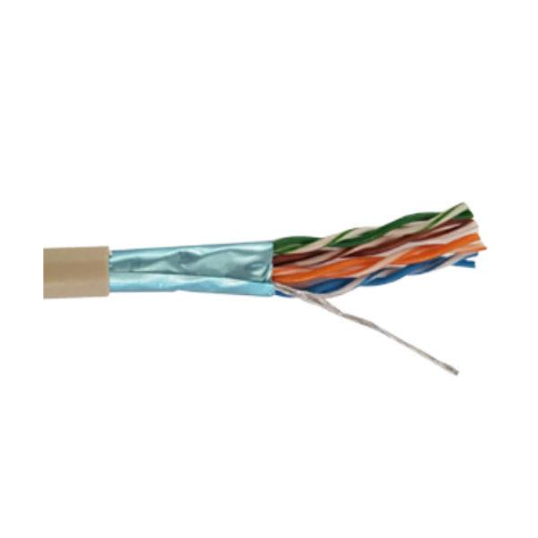 Câble STXP4 catégorie 5 blindé 4 paires AWG26 (Prix par bobine de 100m)