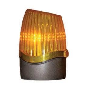 Feu à LED fixe Orange - 24V / 2W