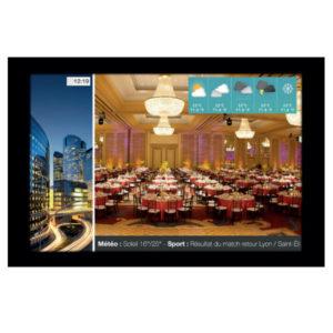 Écran HD multi-média - 15 pouces